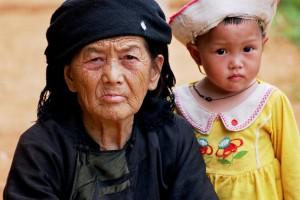 femme et enfant de Sapa