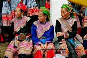 marche de Bac Ha vietnam