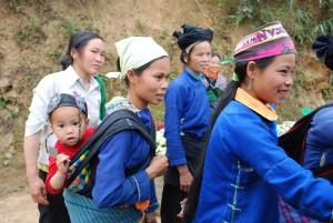 femme de Yen Minh vietnam