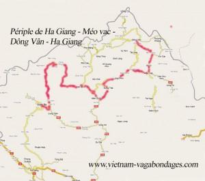 route-Meo Vac par Yen Minh
