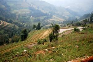 montagne route de bac ha vietnam