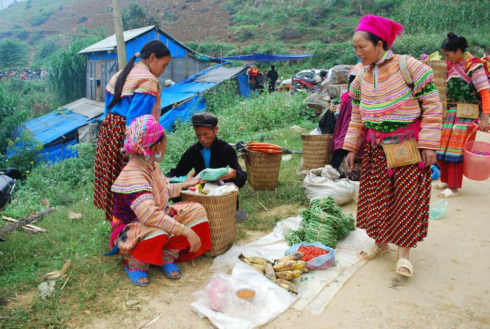 circuit vietnam marché de Can Cau
