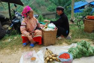 marché de Can Cau nord vietnam