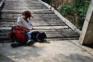 Sylvie en repérage au vietnam et les foumis de Hoan Su Phi
