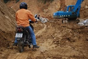 voyage  moto  route Bac Ha -  Xi Man