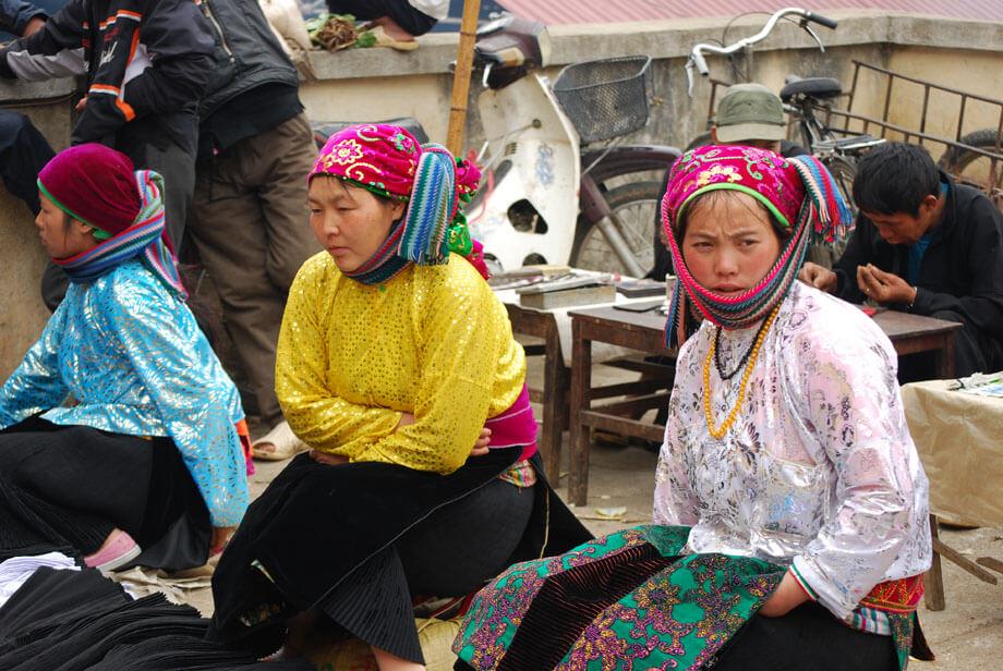 marché de Méo Vac  région Ha Giang