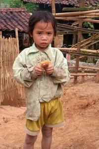 vietnam enfant de Méo vac