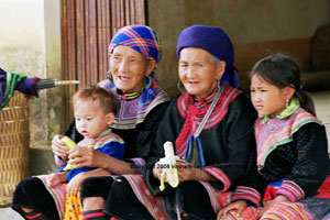 HMONG INDIGO  vietnam vagabondages