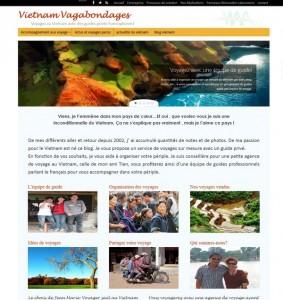 maquette blog  Vietnam Vagabondages