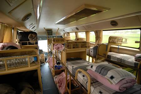 bus couchette au Vietnam