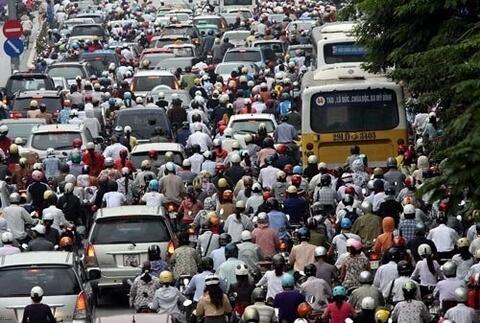 embouteillage au vietnam