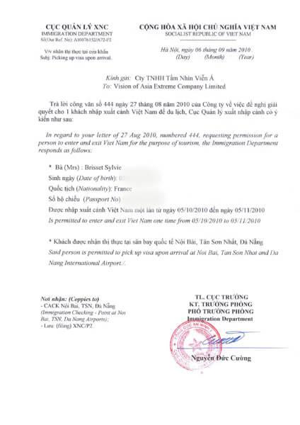 Quel visa obtenirpour visiter le Vietnam