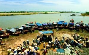 delta du fleuve rouge  Parc National de Xuan Thuy