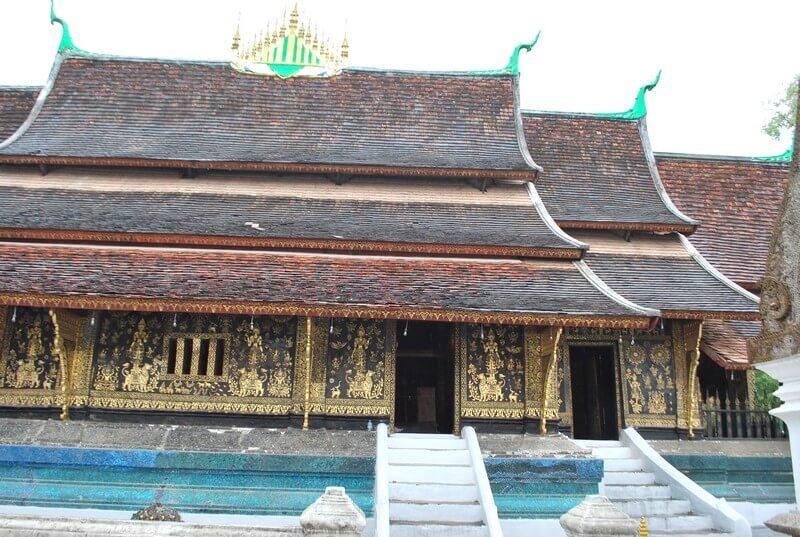 Luang Prabang  temple Vat Xieng thong