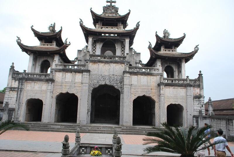 cathedrale Phat Diem vietnam