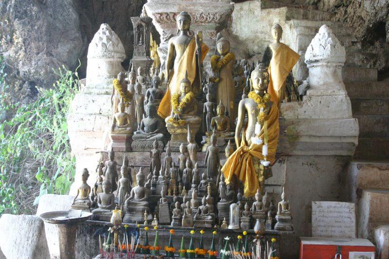 voyage laos grottes de Pak Ou