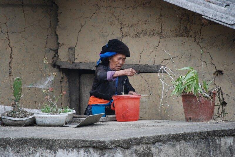 village de Pho Cao Ha Giang