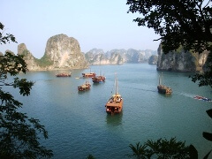 visiter baie Halong