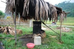 fabrication alcool de manioc