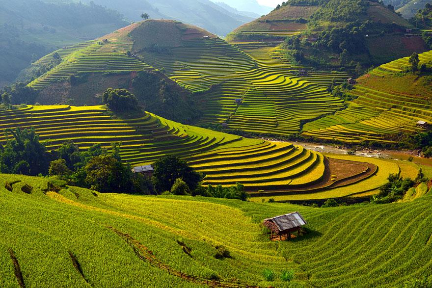 circuit vietnam rizieres Mu Can Chai