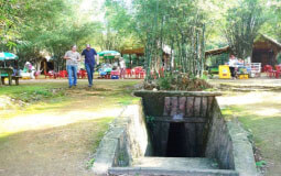 tunnels souterrains de Cu Chi - Ho Chi Minh