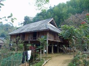 dormir chez habitant -trek pac Pu Luong