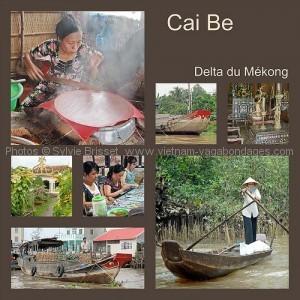 marché de cai bé delta du mékong