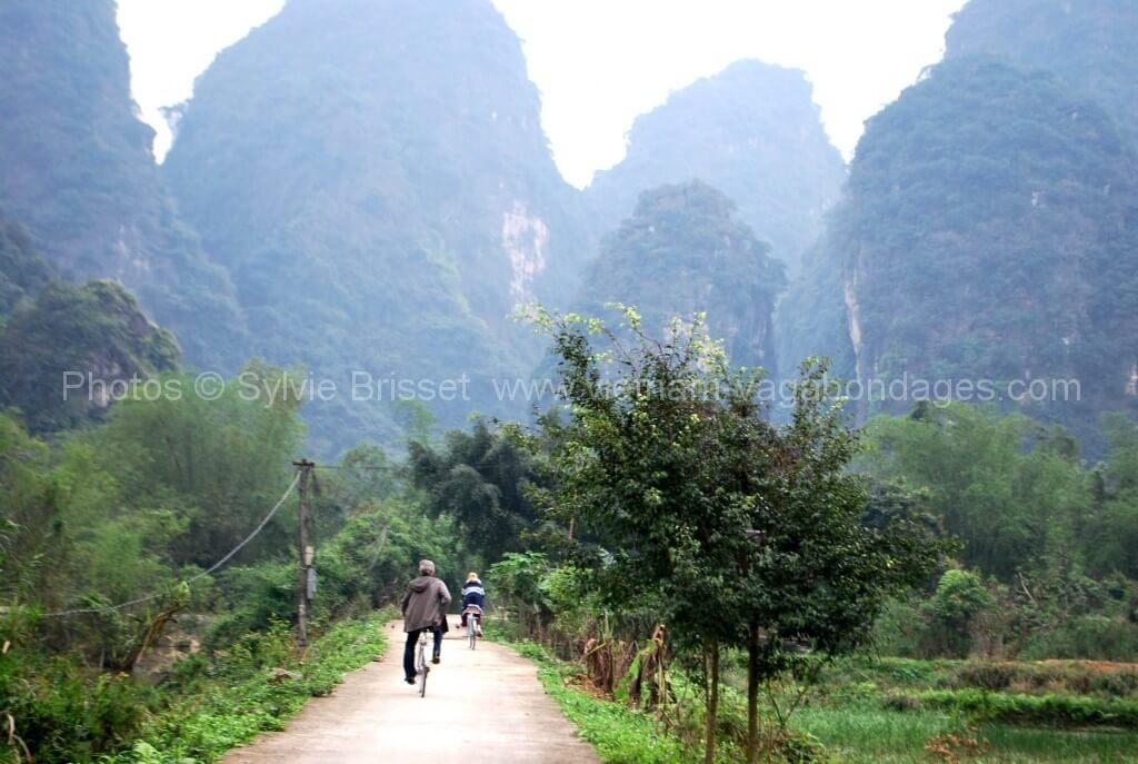 Tam coc - Ninh Binh en vélo voayge francophone