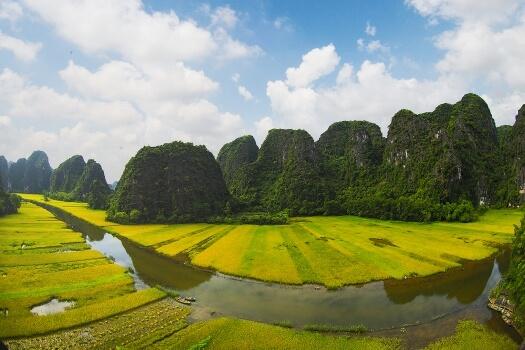 riziere de Ninh Binh 12 jours circuit privatif