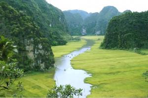 circuit solo vietnam Tam Coc Baie halong terrestre