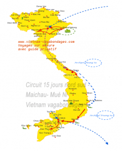 circuit 15 jours vietnam Maichau et plage Mui Né