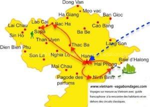 Circuit 15 jours Vietnam Sapa -Thac ba - Halong -Ninh Binh