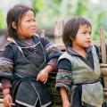 enfants H'mong de Sapa