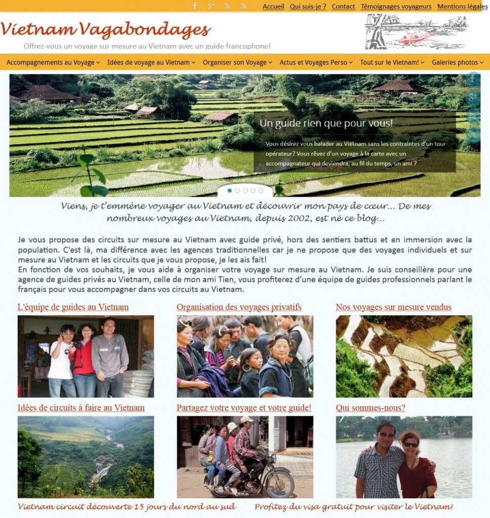 Vietnam Vagabondages Voyages sur mesure authentiques avec guide prive
