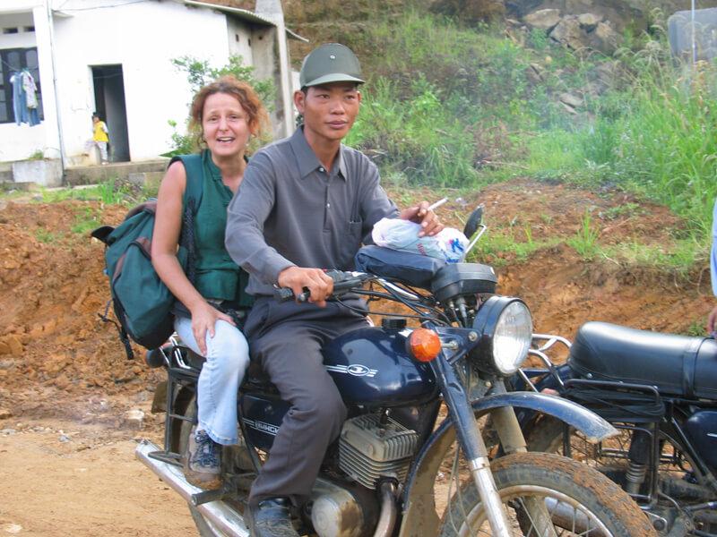 Sylvie repérage pour Vietnam Vagabondage