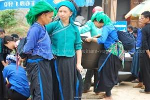 visiter le marché de Xi Man nord vietnam