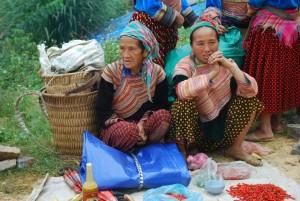 H'mong fleuri de Can Cau  Lung Phin vietnam