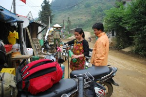 plein d'essence route de Xi Min vietnam