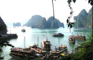 voyage famille vietnam baie Along