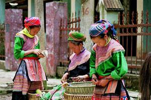 marche de Bac Ha vietnam vagabondages