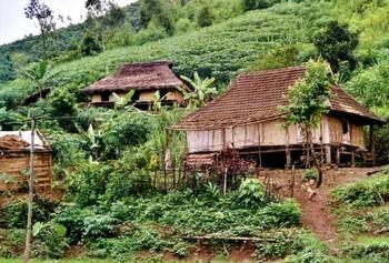 randonnée village de Maichau