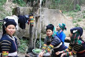 femme de Bao Lac sur la route de Méo Vac