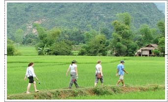 marche à pied maichau vietnam