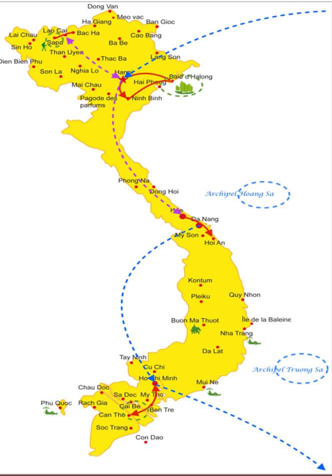 L'essentiel du Vietnam en 14 jours avec les ethnies de Sapa