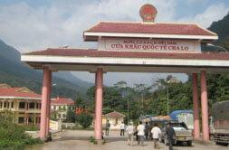frontiere terrestre Laos Vietnam