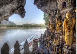 grotte de Pak Ou laos