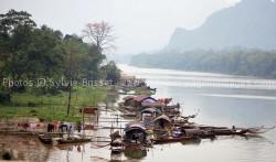rivière Pung parc de Pu luong