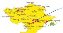Programme Voyage randonnée parc de Pu Luong