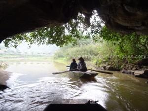 Voyage Pompier Tam Coc grotte