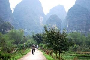 voyage 15 jours au vietnam Tam Coc à vélo